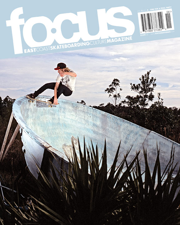 Fritz Mead Focus Skateboard Magazine